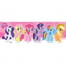 My Little Pony Slim Wall Poster