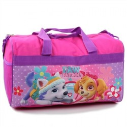 "Nick Jr Paw Patrol Everest And Skye 18"" Duffle Bag Houston Kids Fashion Clothing Store"