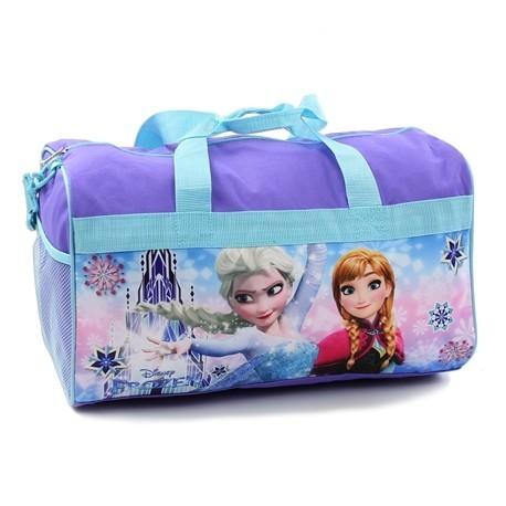 "Disney Frozen Anna and Elsa Girls 18"" Duffle Bag Houston Kids Fashion Clothing Store"