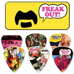 Frank Zappa Freak Out 6 Piece Guitar Picks