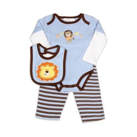 Kathy Ireland Designer Baby 3 Piece Lion Set Houston Kids Fashion Clothing The Woodlands Texas