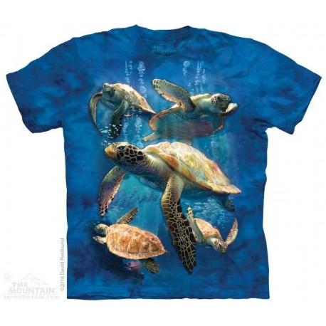 The Mountain Sea Turtle Family Short Sleeve Shirt Size Chart Houston Kids Fashion Clothing Store