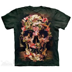 The Mountain Artwear Jungle Skull Short Sleeve Shirt