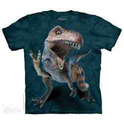 The Mountain Peace T Rex Short Sleeve Youth Shirt