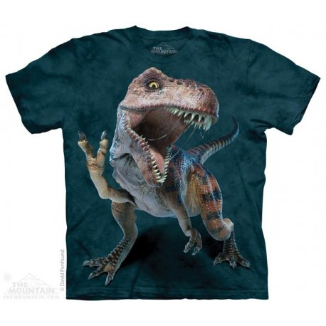 The Mountain Peace T Rex Short Sleeve Youth Shirt Houston Kids Fashion Clothing Store
