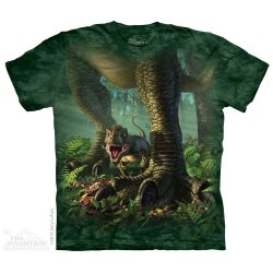 The Mountain Baby T Rex Short Sleeve Youth Shirt