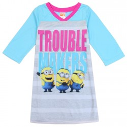 Despicable Me Trouble Makers Nightgown With Long Sleeves