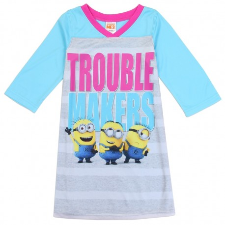 Despicable Me Minions Trouble Makers Nightgown Houston Kids Fashion Clothing Store