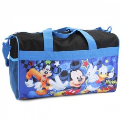 "Disney Mickey Mouse And Friends 18"" Duffle Bag Houston Kids Fashion Clothng Store"