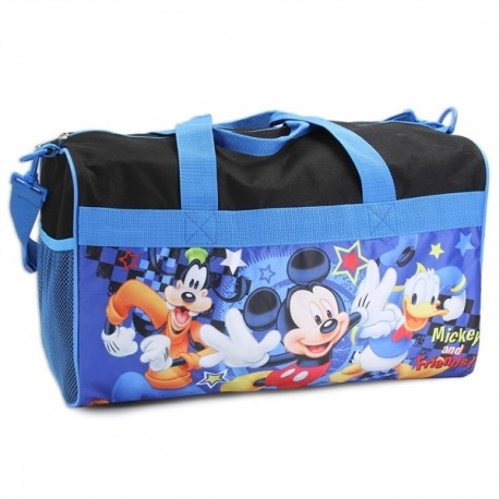 """Disney Mickey Mouse And Friends 18"""" Duffle Bag Houston Kids Fashion Clothng Store"""