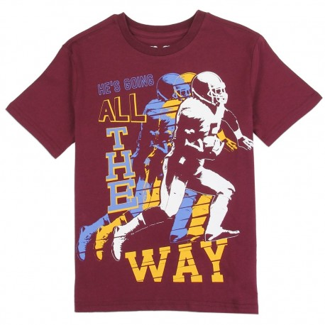 PS From Aeropostale He's Going All The Way Football Player Boys Shirt Houston Kids Fashion Clothing Store