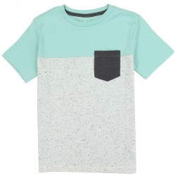 PS From Aeropostale Mint Boys Pocket Tee
