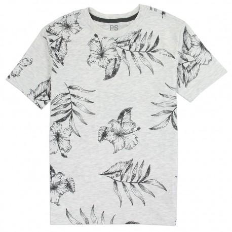 PS From Aeropostale Tropical Flower Boys Shirt houston Kids Fashion Clothing Store