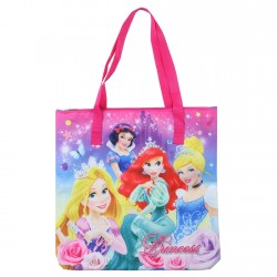 Disney Princess Ariel Cinderella Rapunzel Snow White Zippered Tote Bag