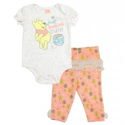 Disney Winnie The Pooh Just Beeing Cute Onesie and Pants Set Houston Kids Fashion Clothing Store