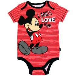 Disney Mickey Mouse Ladies Love Me Infant Onesie Houston Kids Fashion Clothing Store