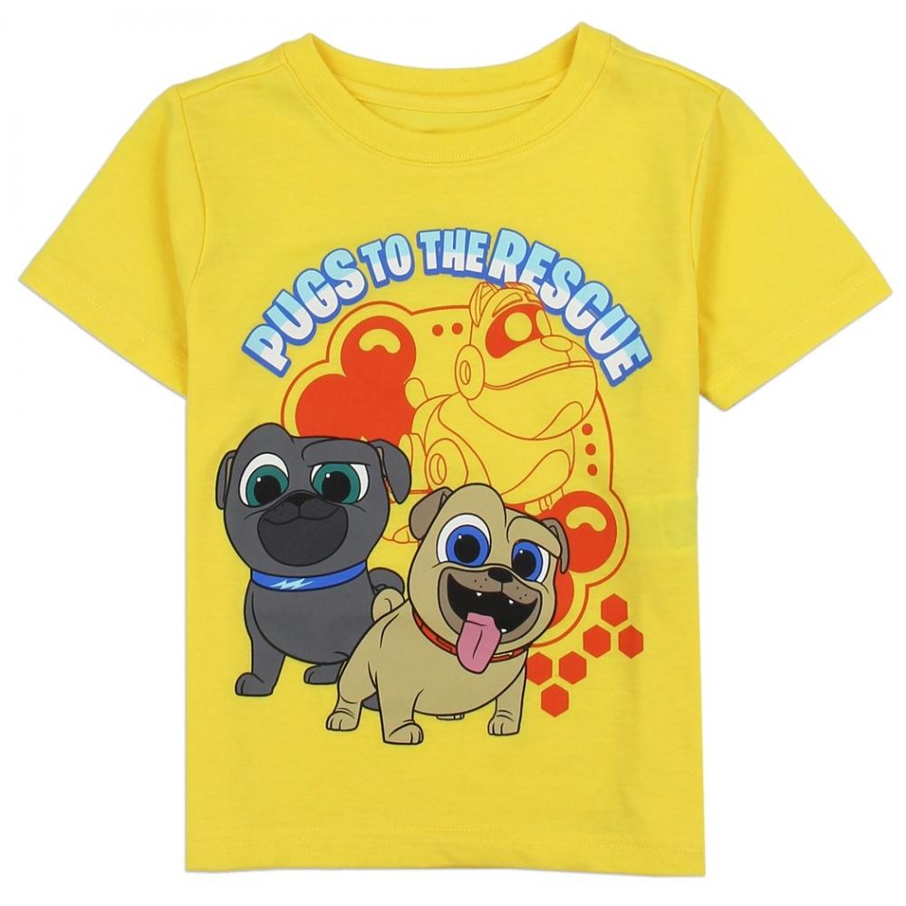 d66e37e60 Disney Puppy Dog Pals Pugs To The Rescue Toddler Boys Shirt Houston Kids  Fashion Clothing. Loading zoom