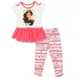 Disney Princess Elena Of Avalor Empowered To Rule Girls Legging Set Houston Kids Fashion Clothing