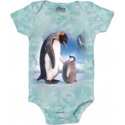 The Mountain The Next Emporer Penguin Baby Onesie