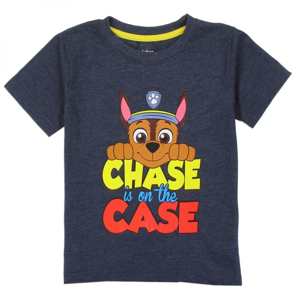 c84d3f92 Nick Jr Paw Patrol Chase Is On The Case Toddler Boys Shirt Free Shipping  Houston Kids. Loading zoom