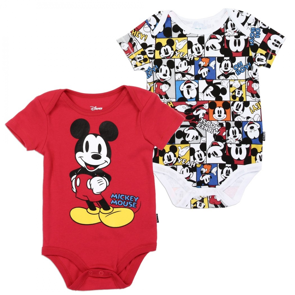 ff2409ec6 Disney Mickey Mouse 2 Piece Baby Boys Onesie Set Free Shipping Houston Kids  Fashion Clothing. Loading zoom