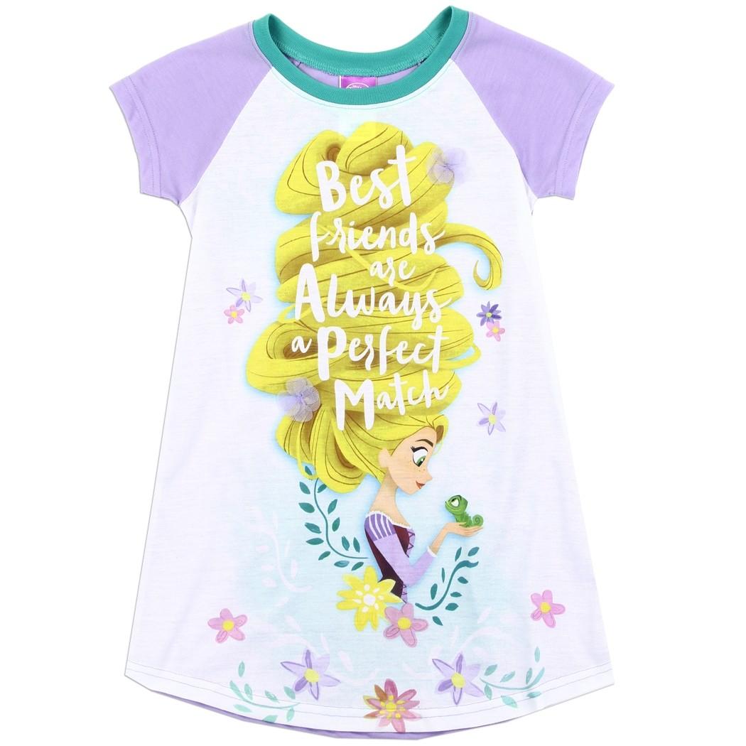 2-Pack Multi Disney Frozen Best Friends Nightshirts for Kids