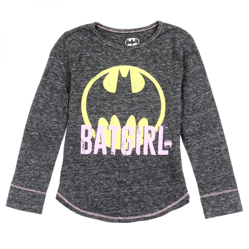 cf0222c50 DC Comics Batgirl Long Sleeve Toddler Girls Top Free Shipping DC Comics  Superheroes. Loading zoom