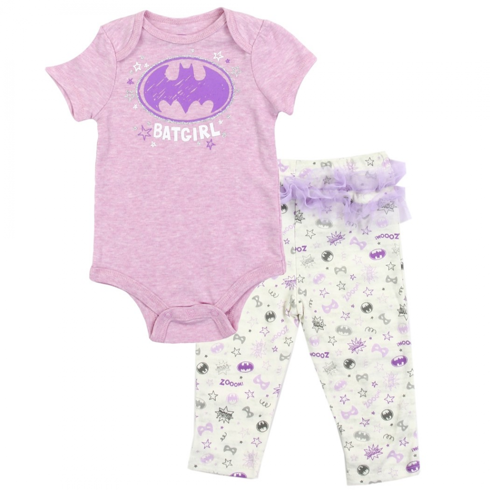 3f3b0590b DC Comics Batgirl Baby Girls Pants Set Free Shipping Houston Kids Fashion  Clothing Store. Loading zoom