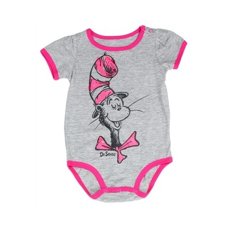 Dr Seuss The Cat In The Hat Infant Girls Onesie