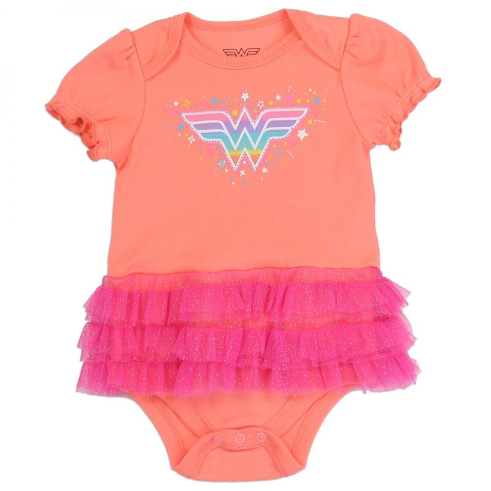 0dab761de DC Comics Wonder Woman Tutu Onesie Housotn Kids Fashion Clothing Store. Loading  zoom