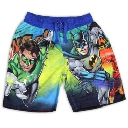 DC Comics Justice League Boys Swim Shorts