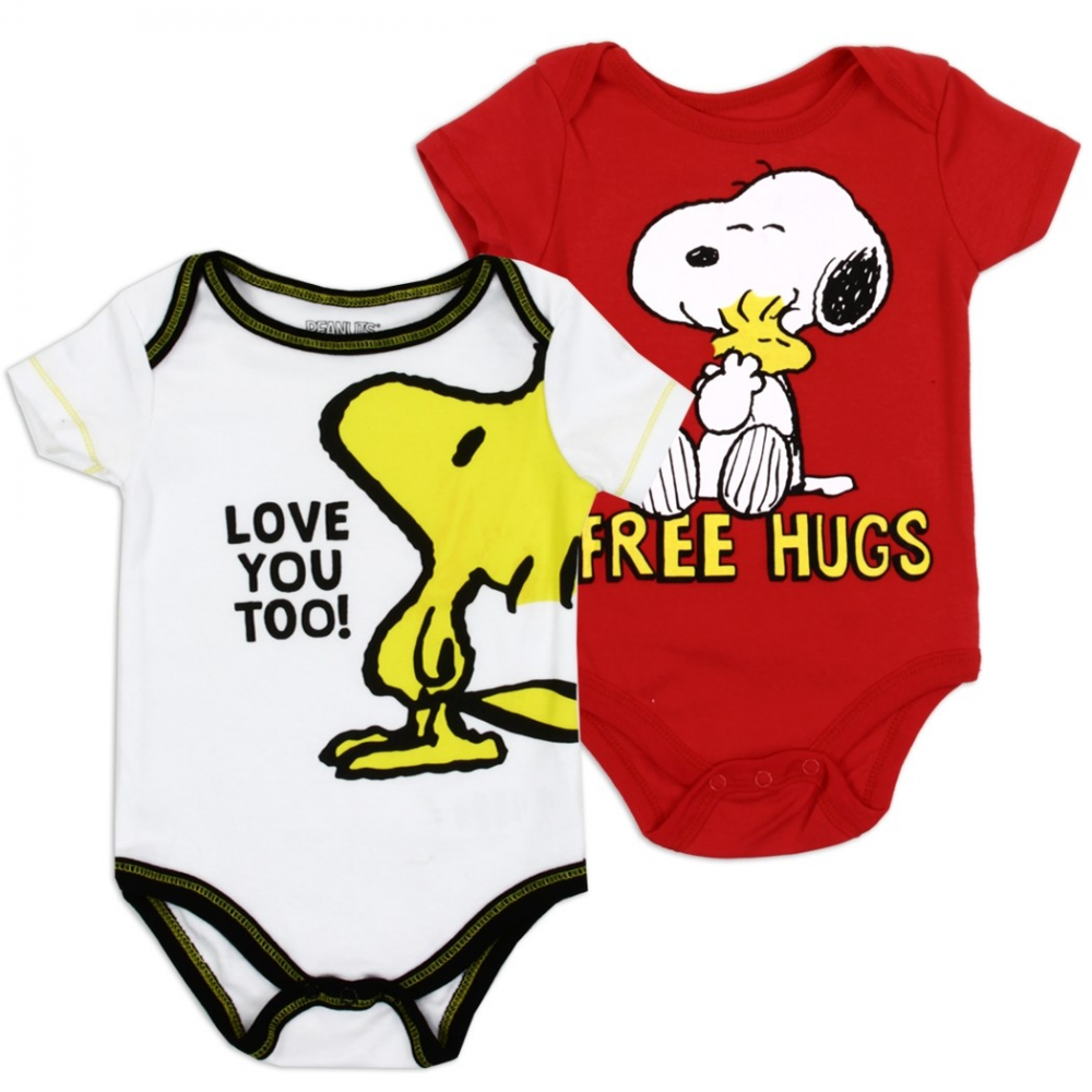 PEANUTS SNOOPY BABY 2 PIECE SET SIZE 0//3 3//6 6//9 12 18 24 MONTHS NEW!