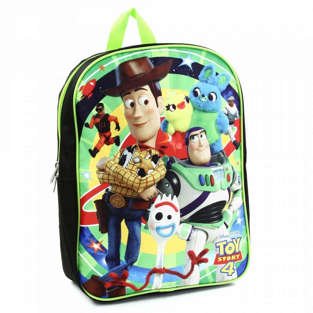 US STOCK Toy Story 4 Boys Backpack Book bag Lunch Box School Kids Buzz Woody Bag