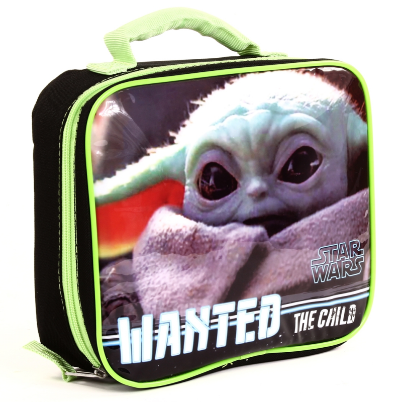 Star Wars Wanted The Child Baby Yoda Insulated Lunch Bag
