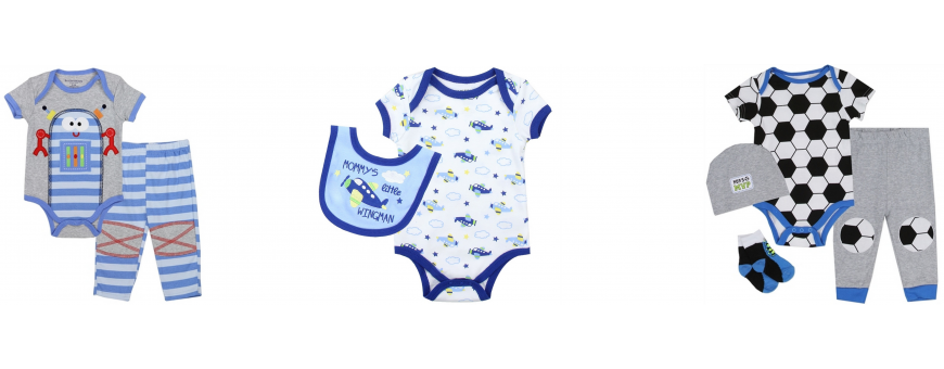 Baby Boy Clothing NB -9 Months