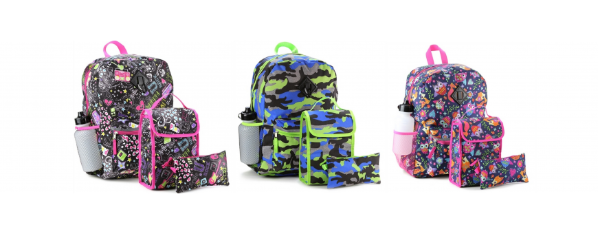 Backpack and Lunch Box Combo