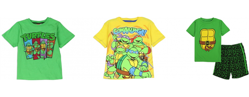 Teenage Mutant Ninja Turtles Boys Clothes