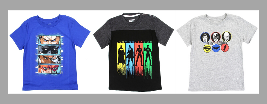 DC Comics Justice League Fun and Comfortable Boys Clothing