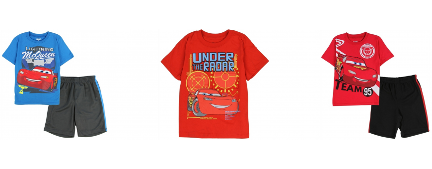 Disney Pixar Cars Boys Clothing