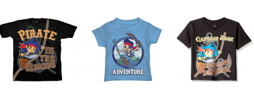 Disney Captain Jake And The Never Land Pirates Boys Clothes