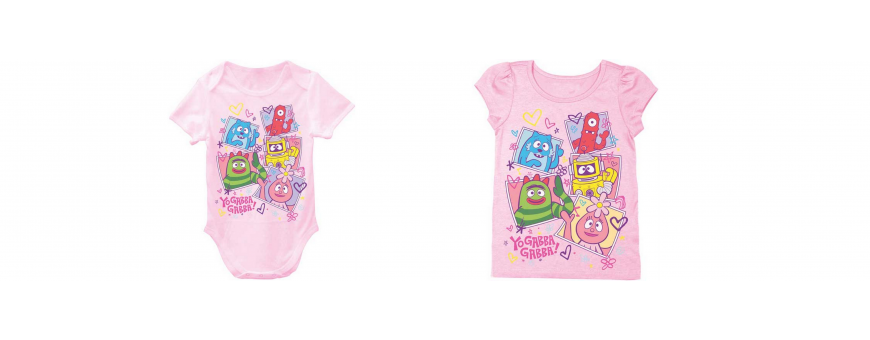 Nick Jr Yo Gabba Gabba Girls Clothes