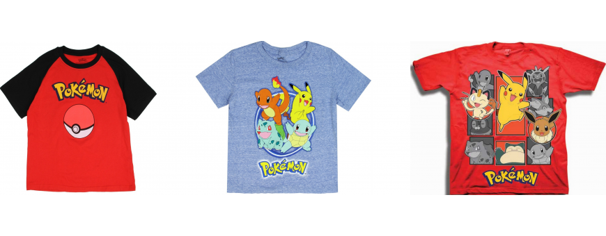 Pokemon Boys Clothes