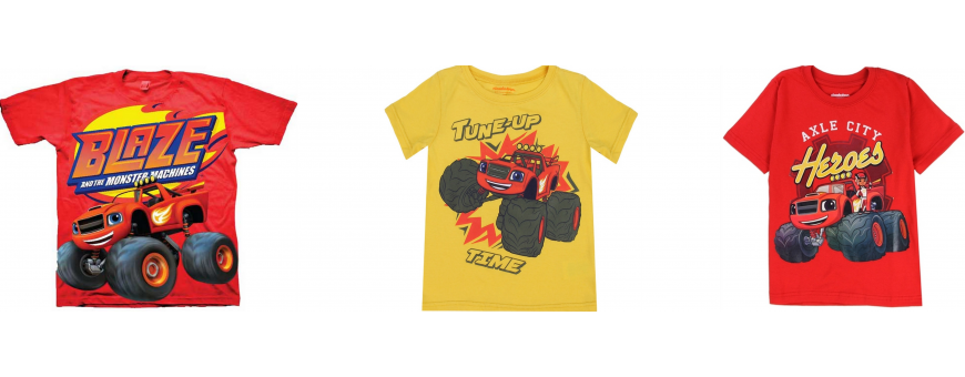 Nick Jr Blaze and the Monster Machines Boys Clothes