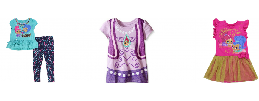 Nick Jr Shimmer And Shine Girls Clothes