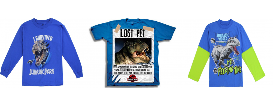 Jurassic Park Boys Clothes