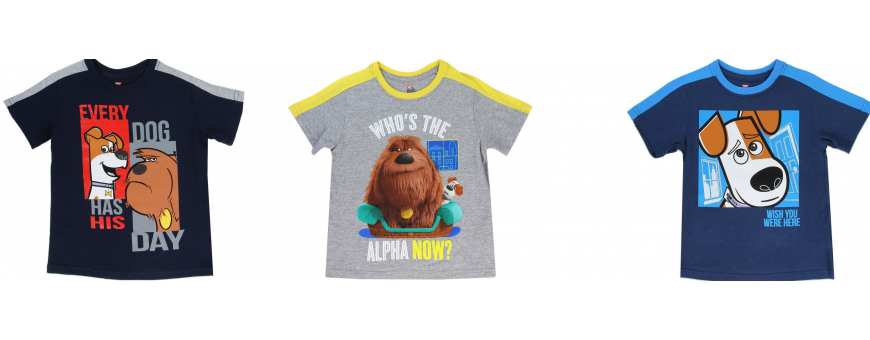 Secret Life of Pets Boys Clothes