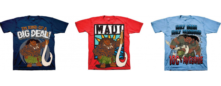 Disney Moana Boys Clothes