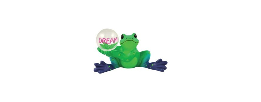 Peace Frogs Figurines