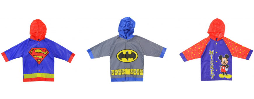 Toddler Boys Raincoats