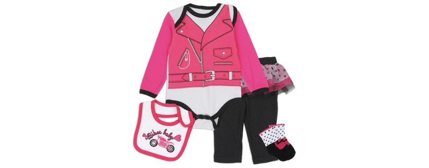 Baby Girls 4 Piece Sets
